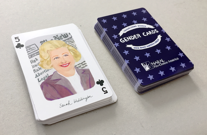 "Andrea Sparacio ""Gender Cards"" for NARAL"