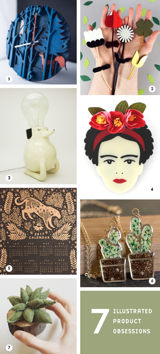 Illustrated Product Obsessions Sept. 9