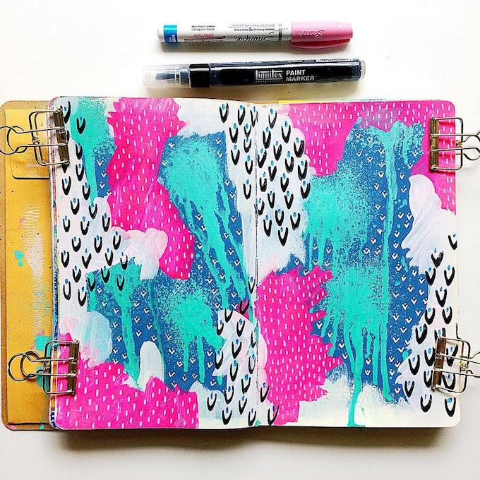 Samantha Russo sketchbook