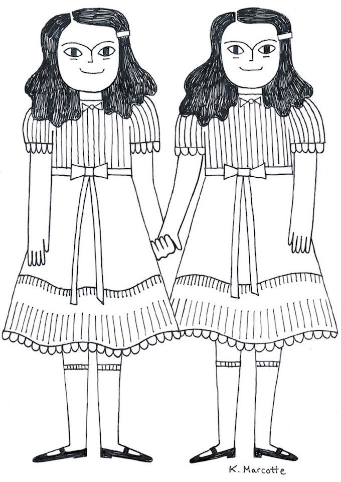 Kathleen Marcotte illustration #inktober 2016