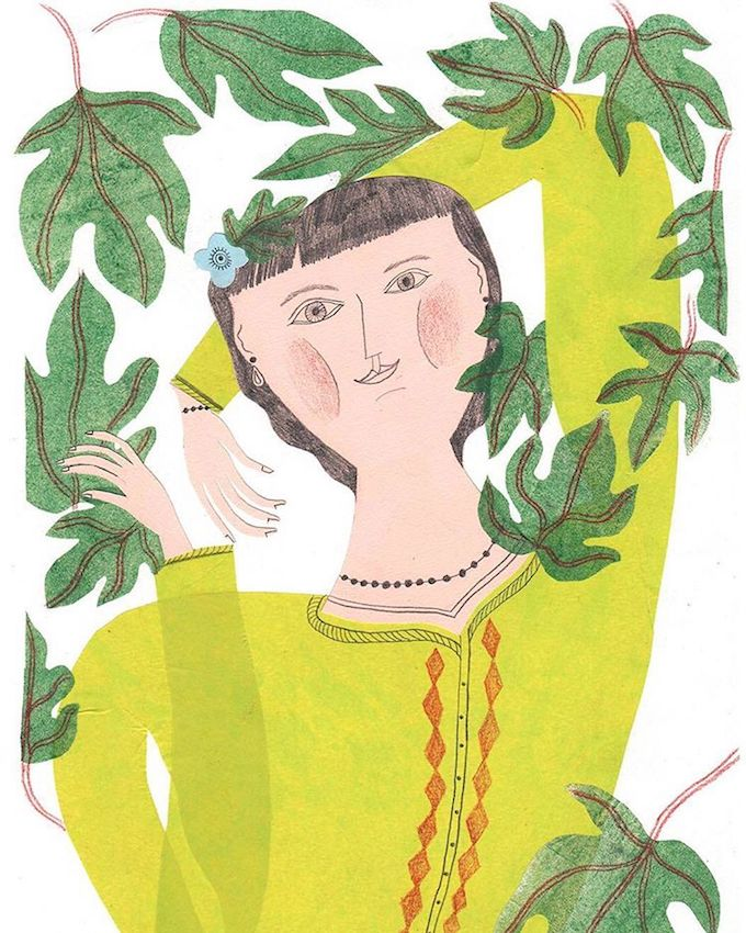 Irene Servillo illustration