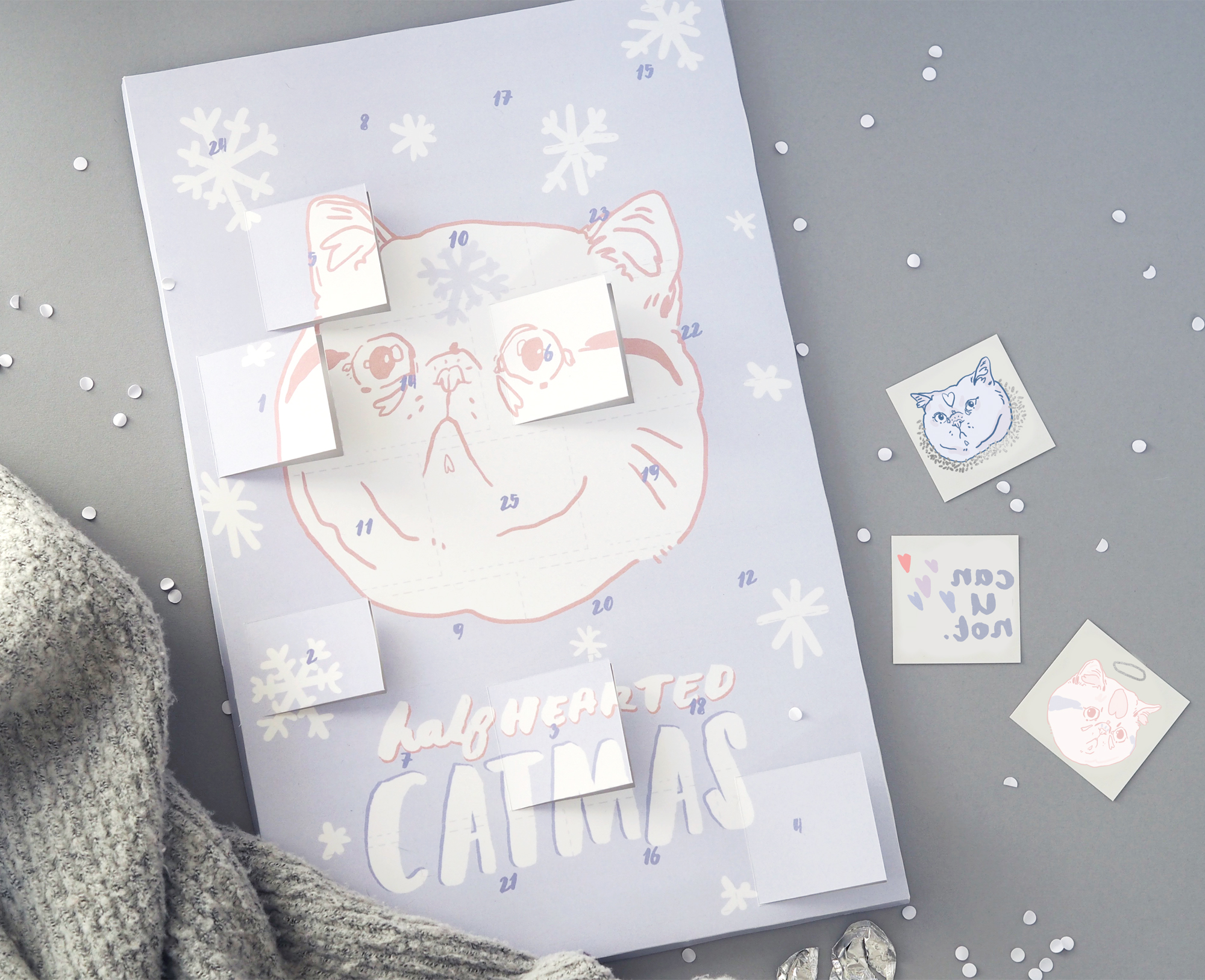 Cat advent calendar by Hello Harriet