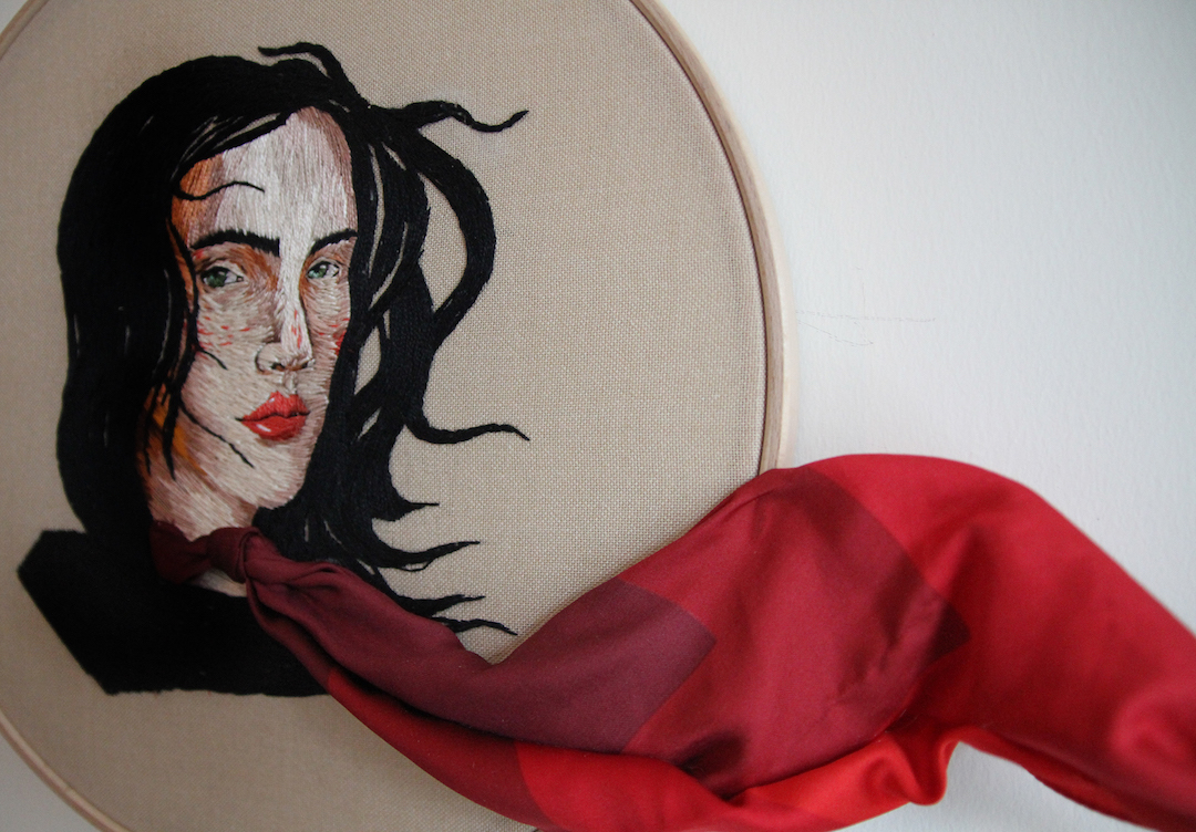 Embroidery by Ezgi Pamir