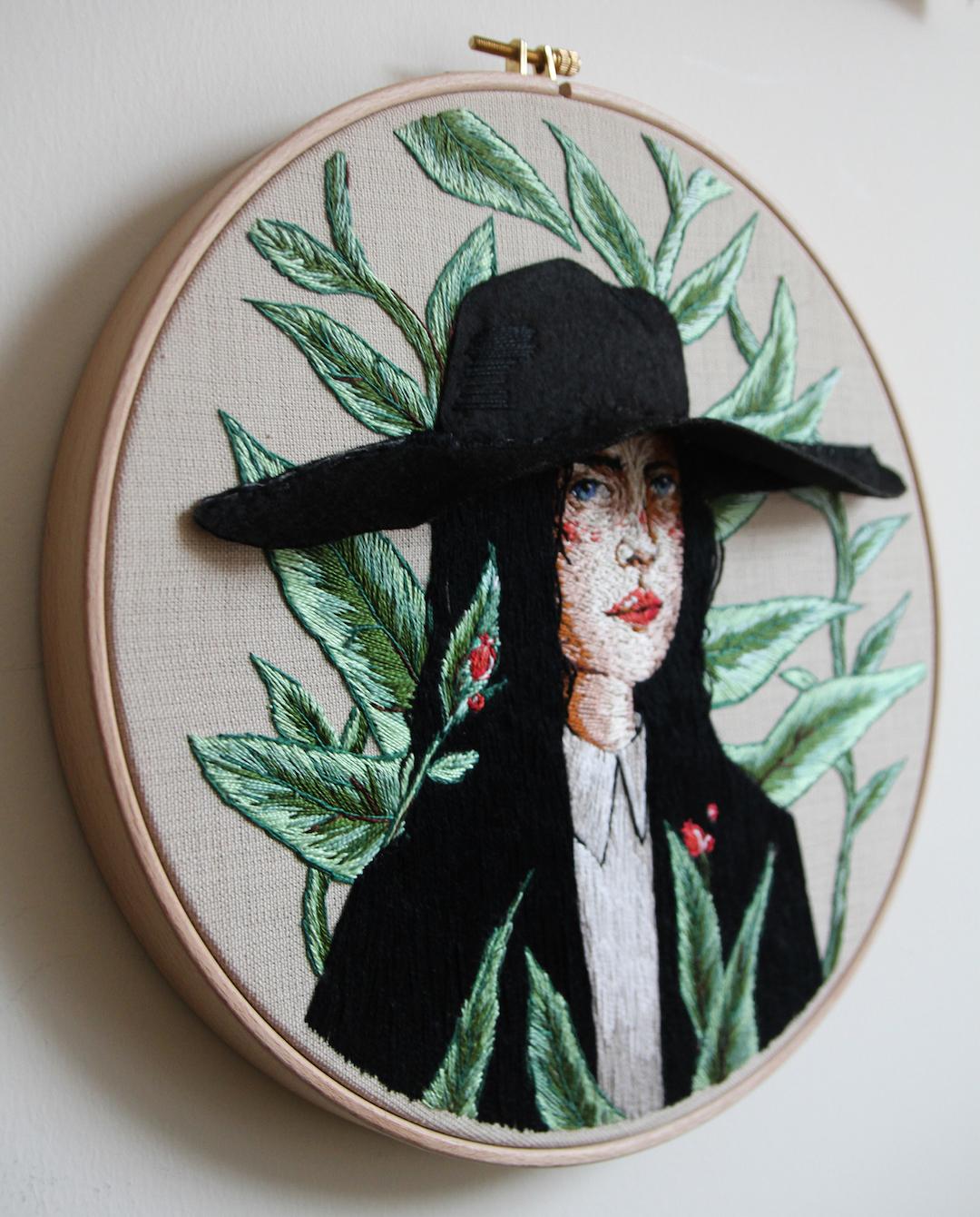 Ezgi Pamir embroidery