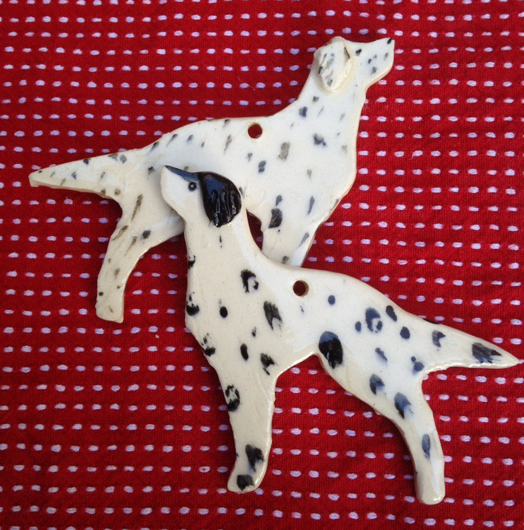Juliet Clark dog ornaments