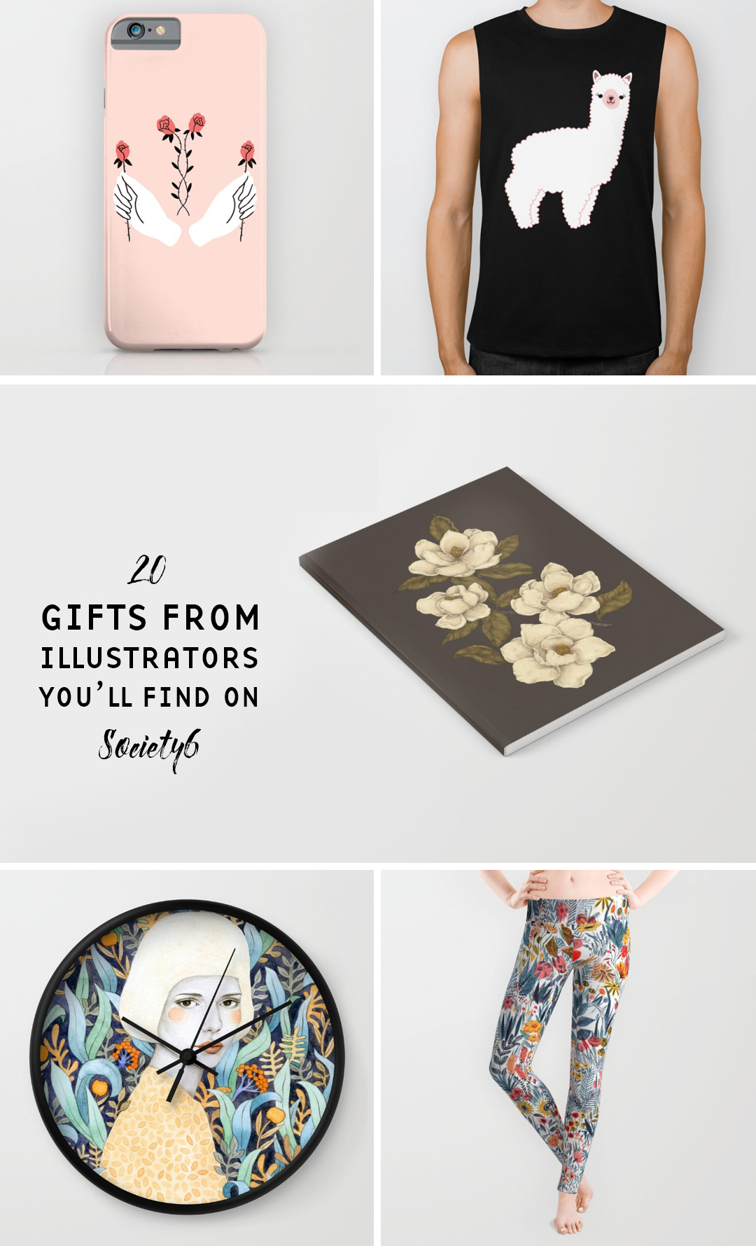 Society6 holiday gift guide