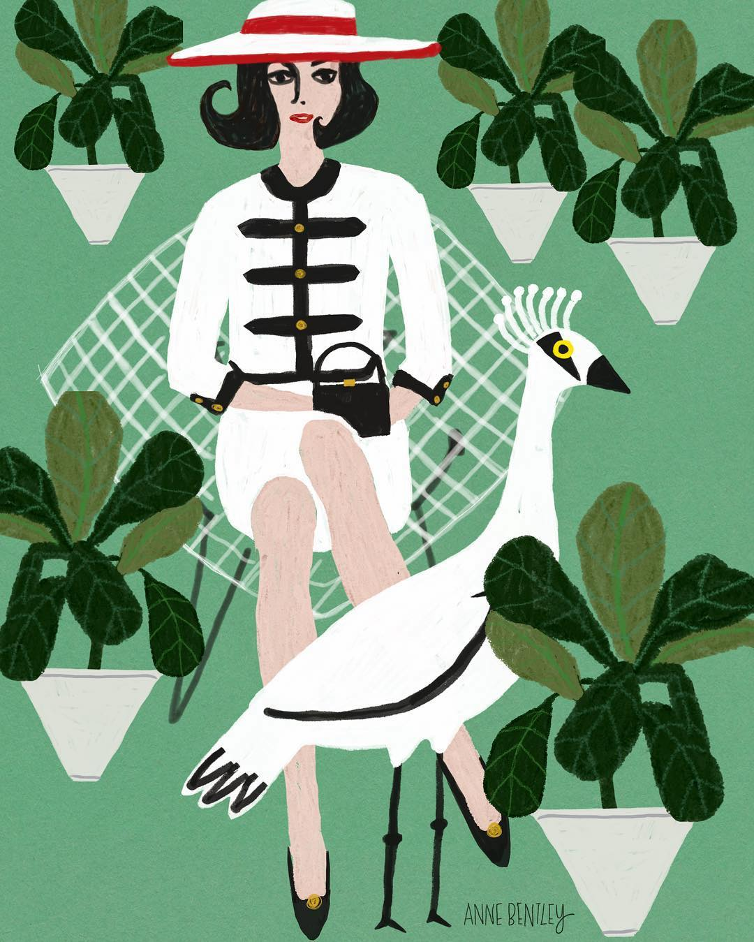 Illustration by Anne M. Bentley