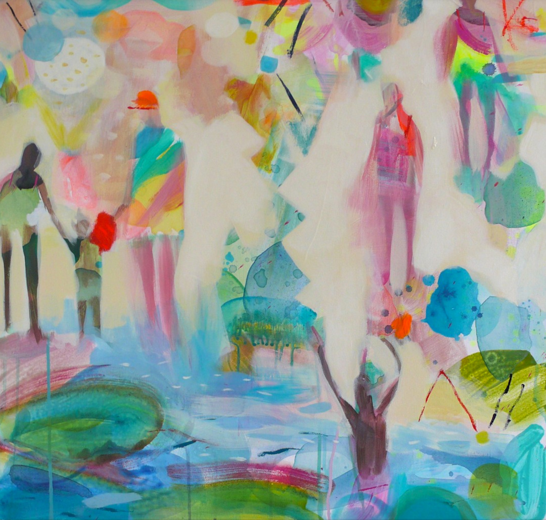Becky Blair landscape paintings