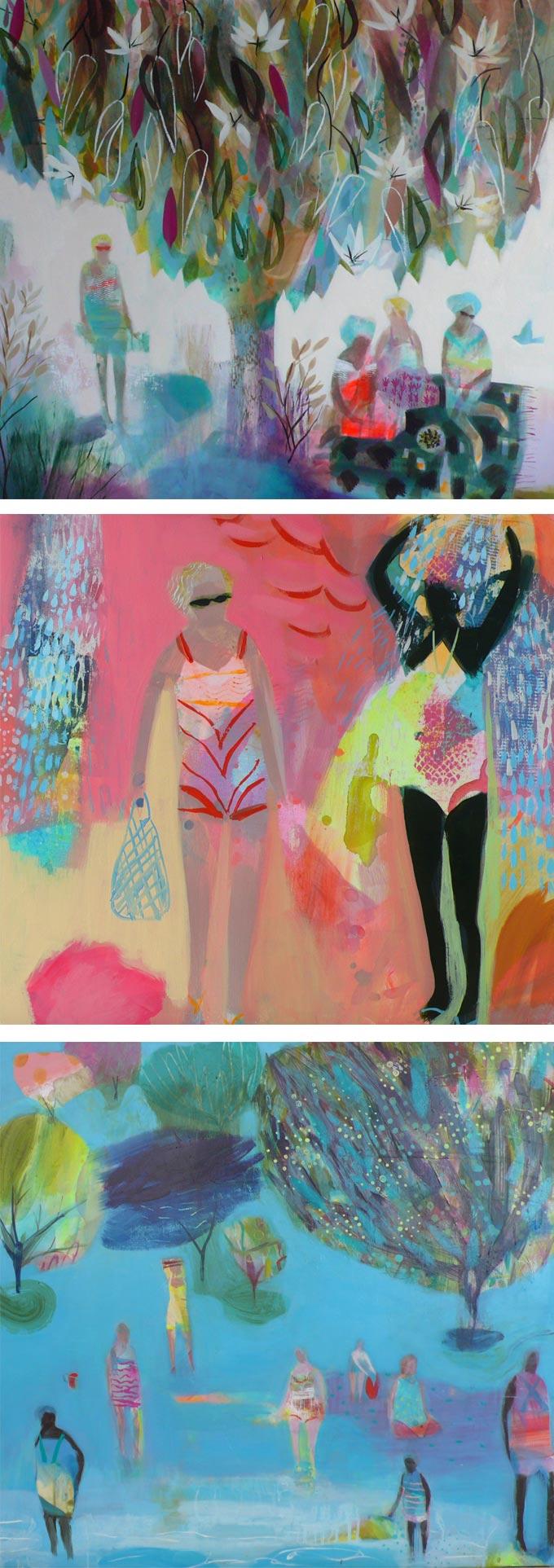 Becky Blair paintings