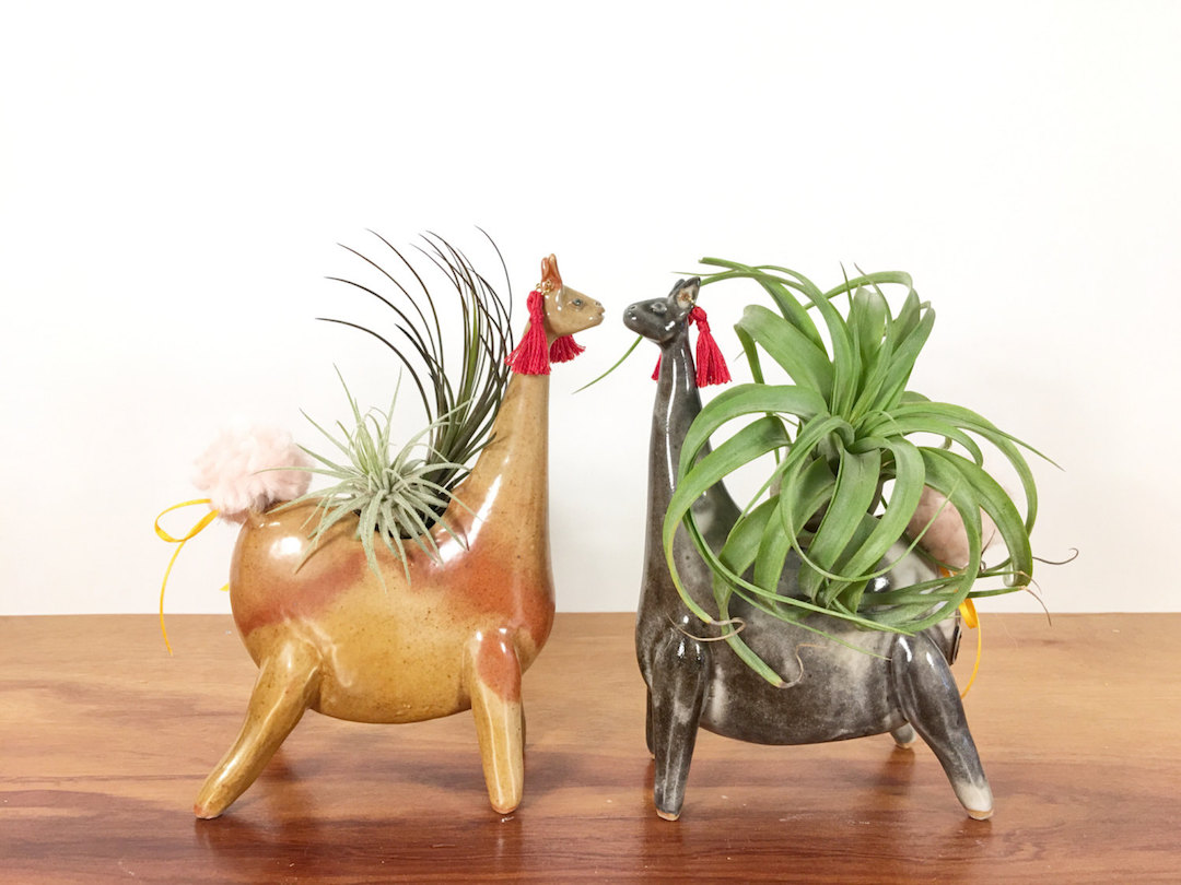 Studio Giverny animal planters