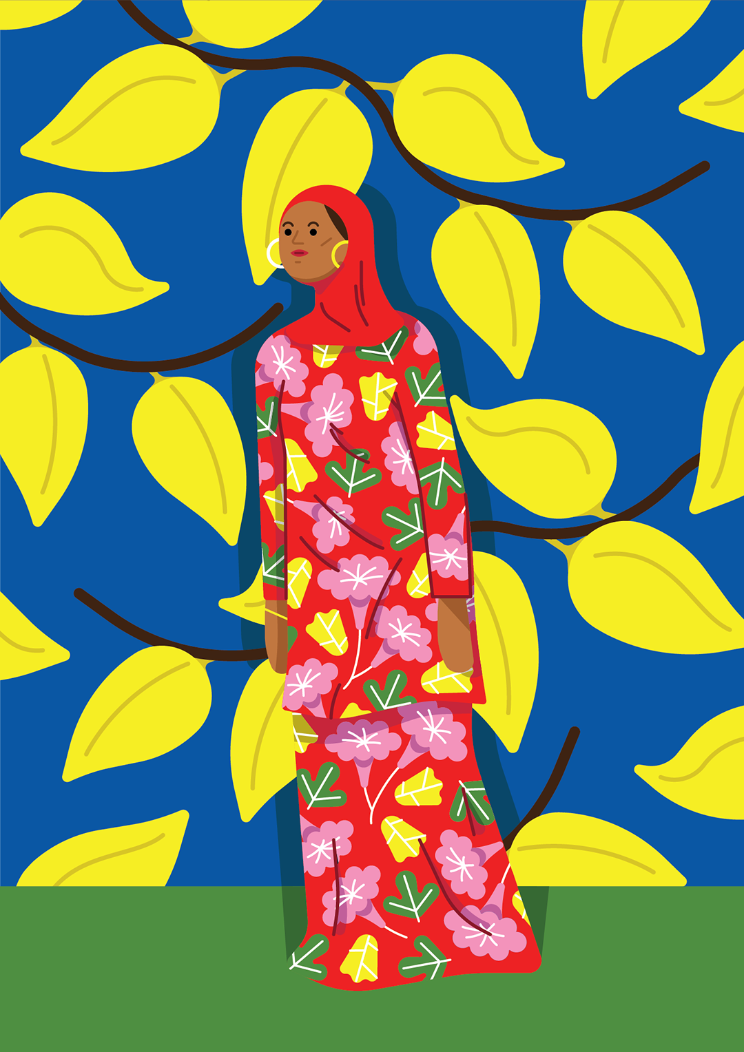 Colorful illustrations by Kiki Ljung