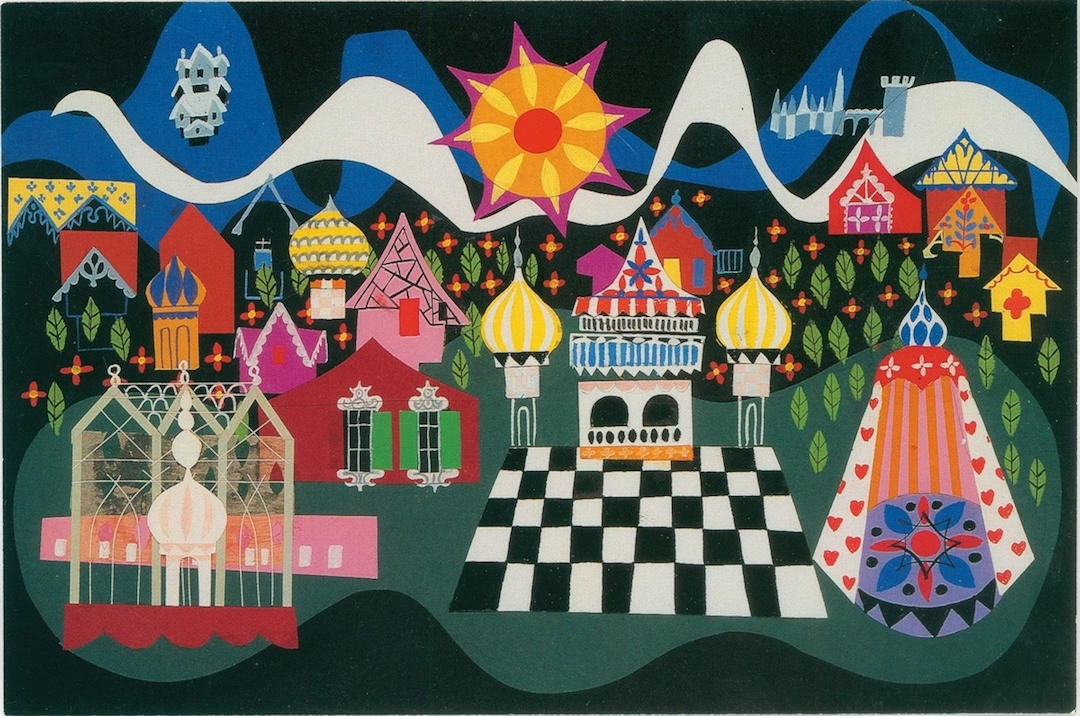 mary blair disney it's a small world
