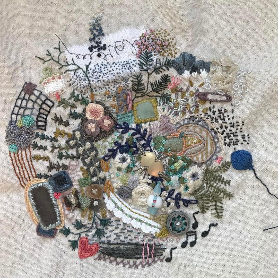1 Year of Stitches, Kellie Flitton