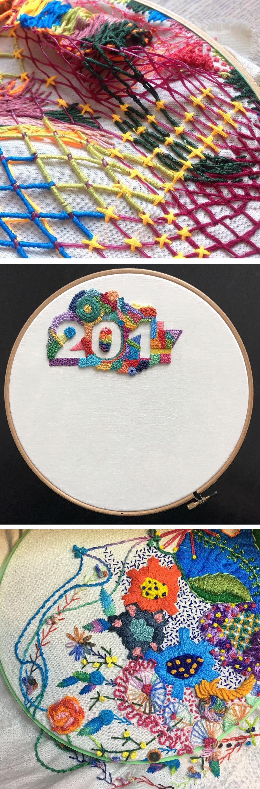 1 Year of Stitches, February recap 2017