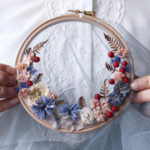 Exquisite Wreath Weavings Frame the World in Real Flowers
