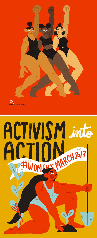 Hayley Thornton-Kennedy illustration activism