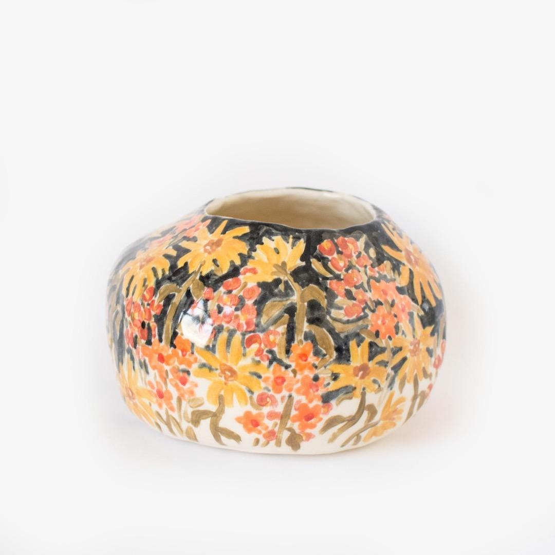 illustrated ceramics by Leah Goren