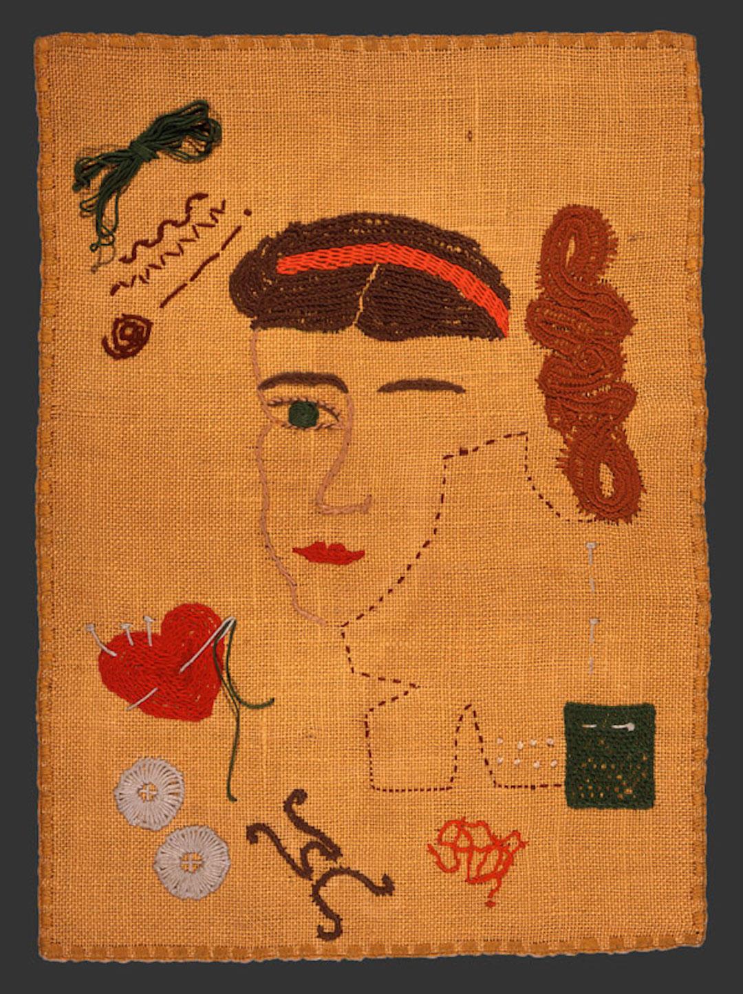 Mariska Karasz vintage embroidery from the 1940s