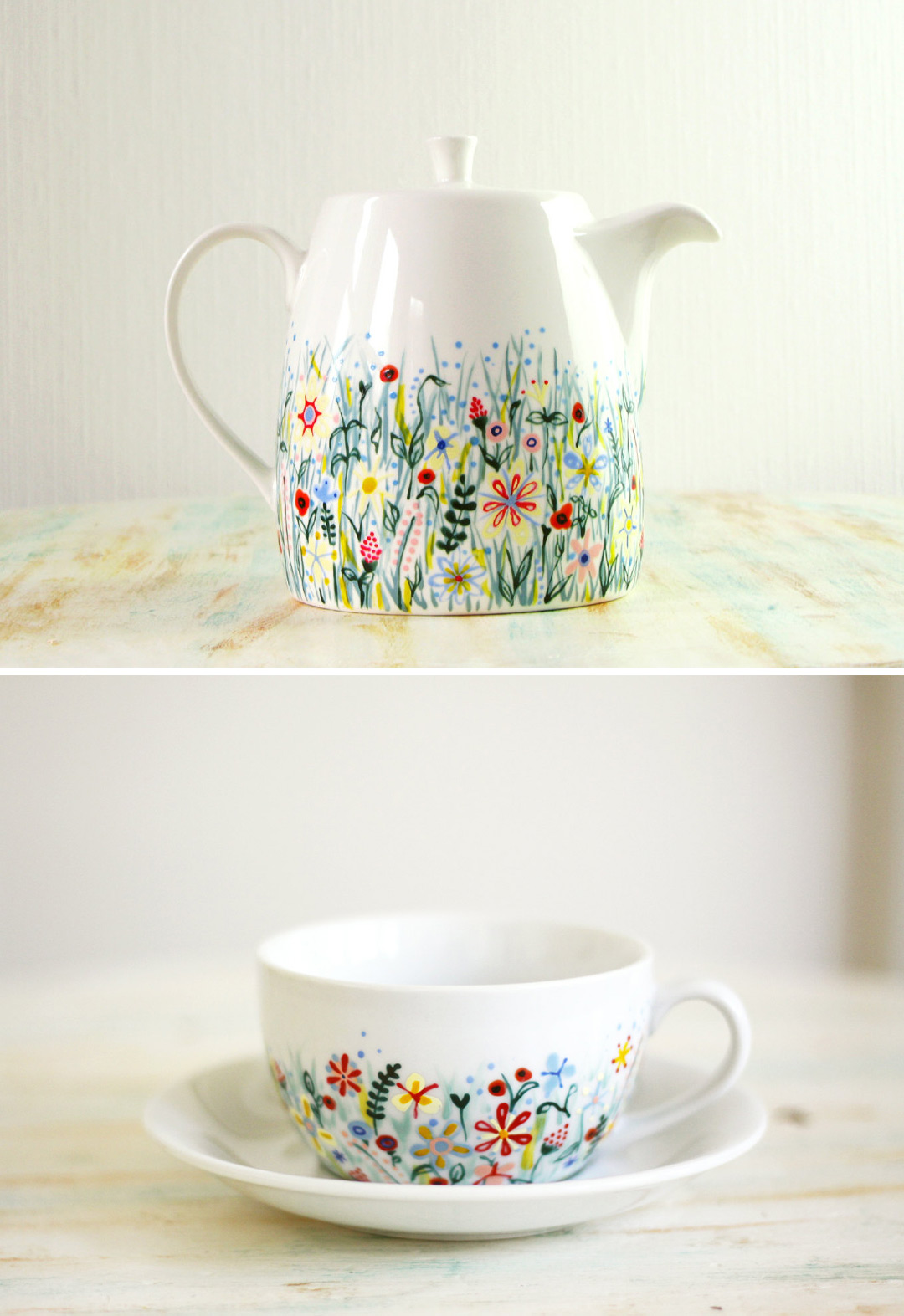 painted ceramics by roootree