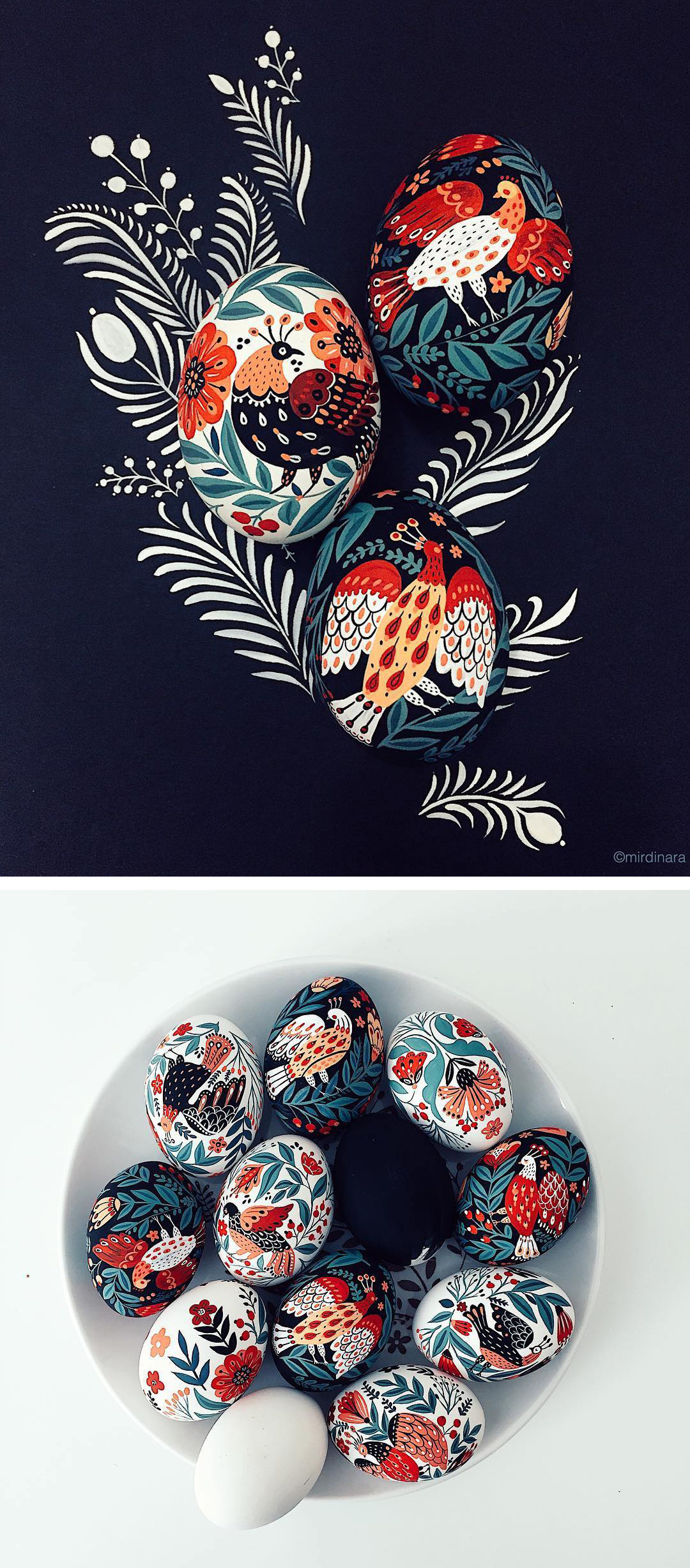 painted eggs by Dinara Mirtalipova