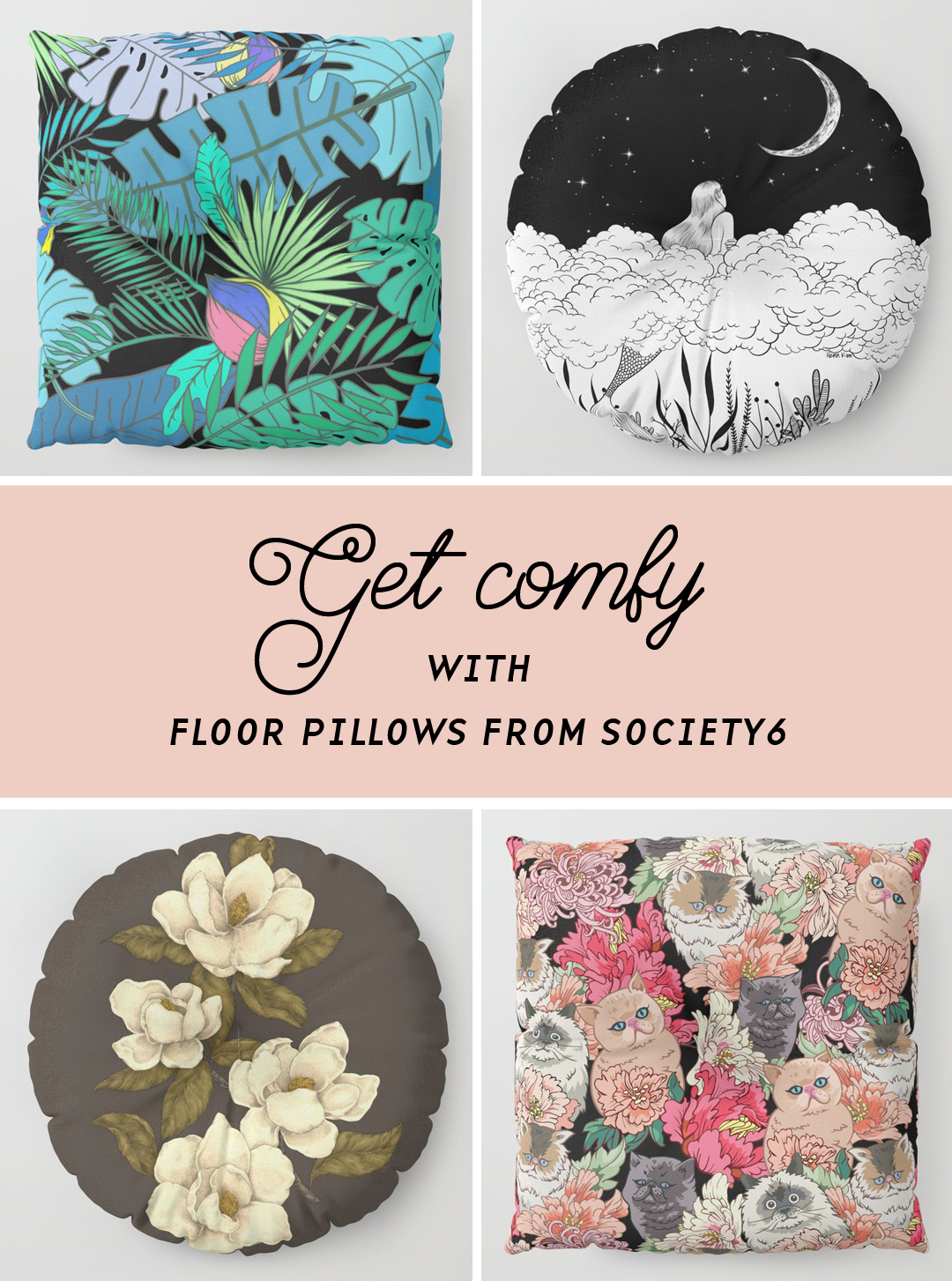 comfy seating from Society6