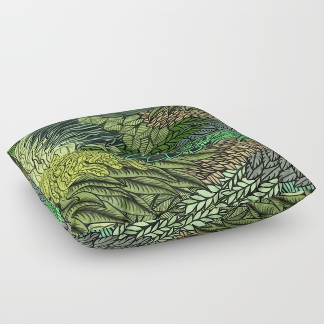 comfy floor pillows from Society6