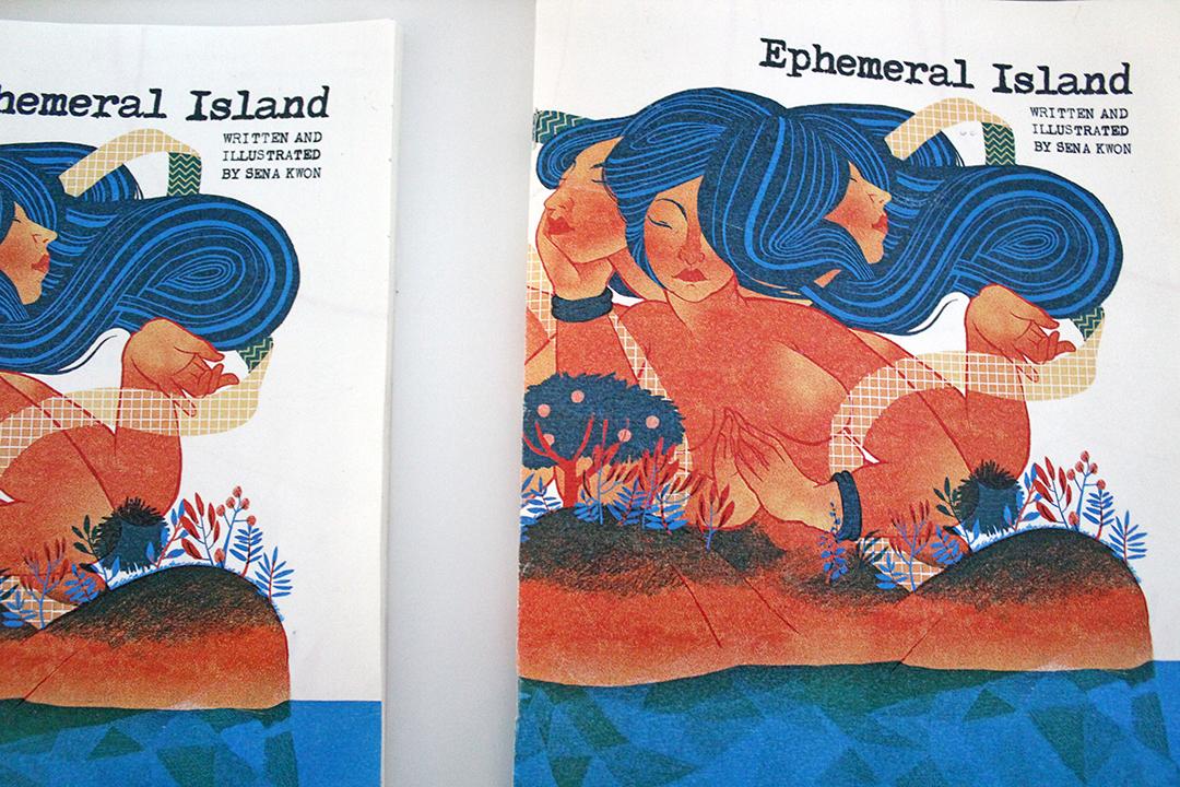 ephemeral island by sena kwon