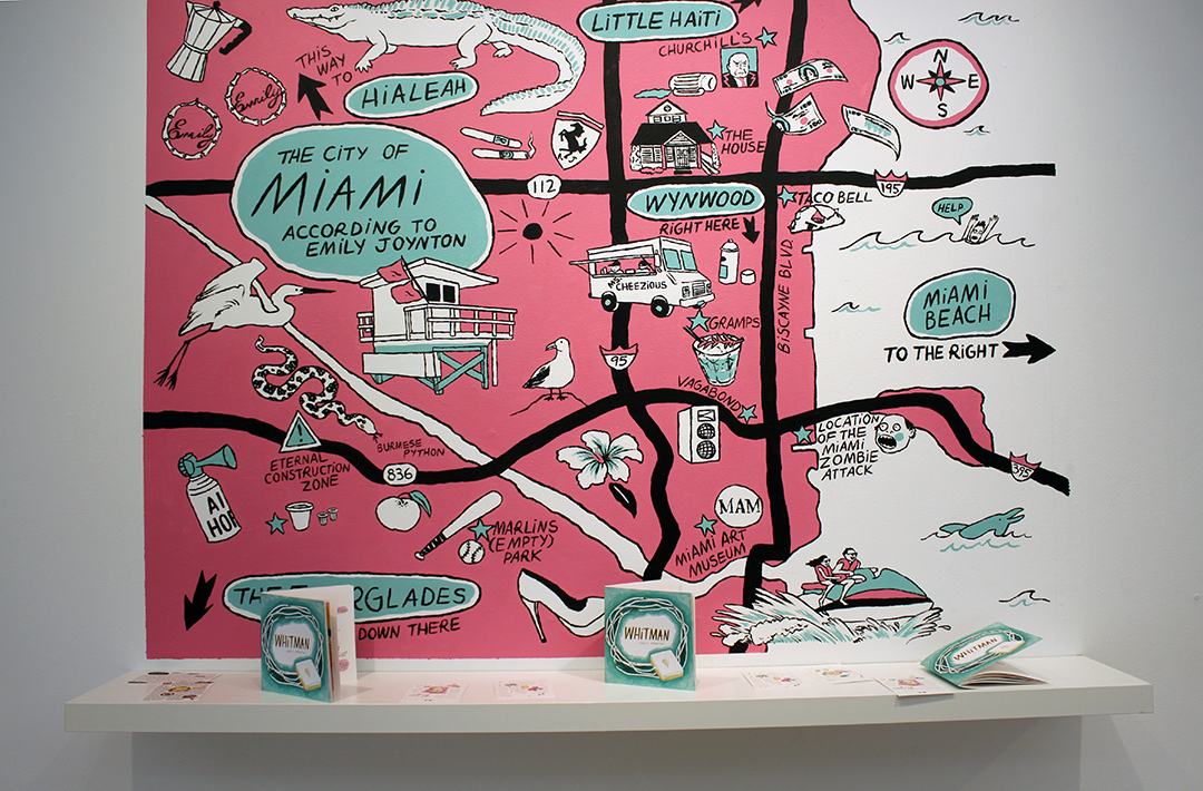 map mural by emily joyton