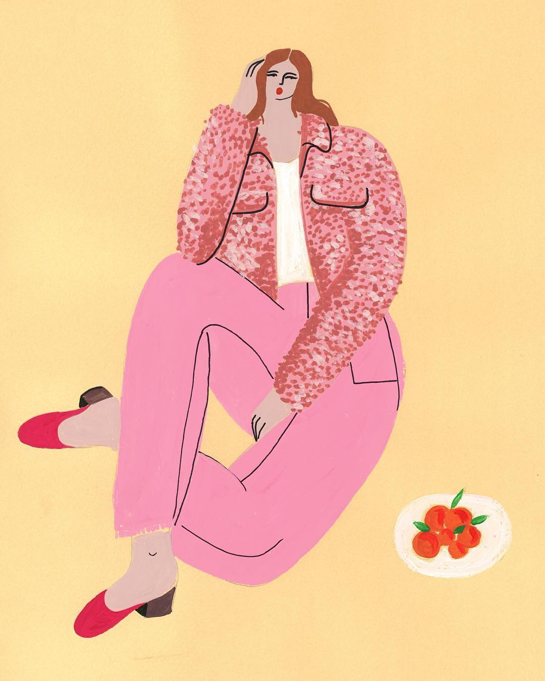 Isabelle Feliu fashion illustration
