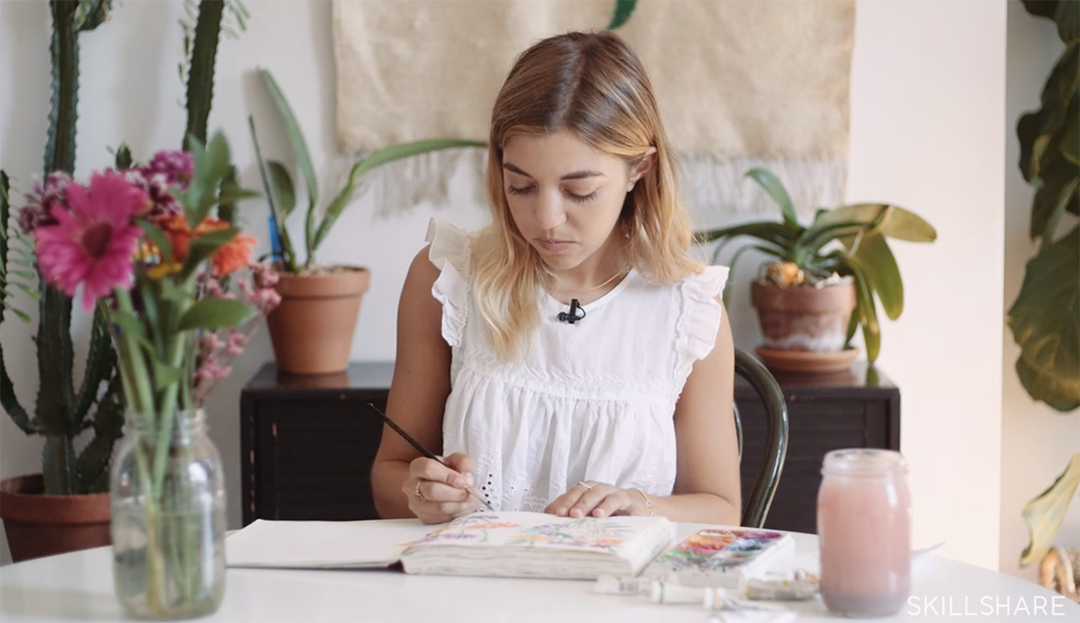 keeping a sketchbook by leah goren for skillshare