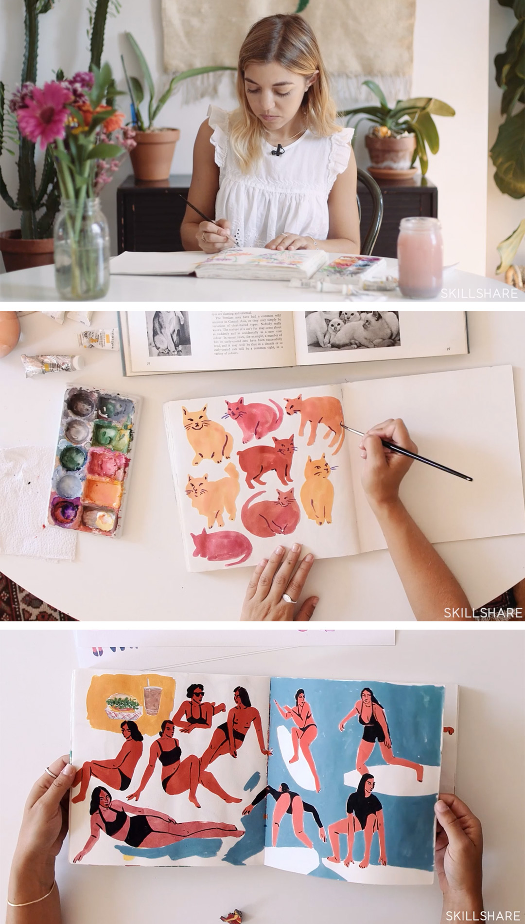 Illustration & Inspiration: Keeping a Sketchbook