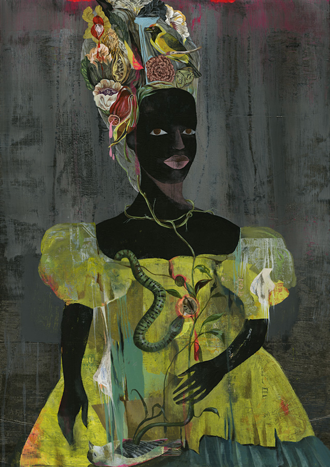 Black Antoinette by Olaf Hajek