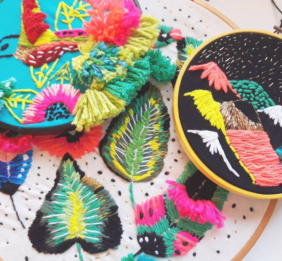 Best embroidery artists to follow on Instagram