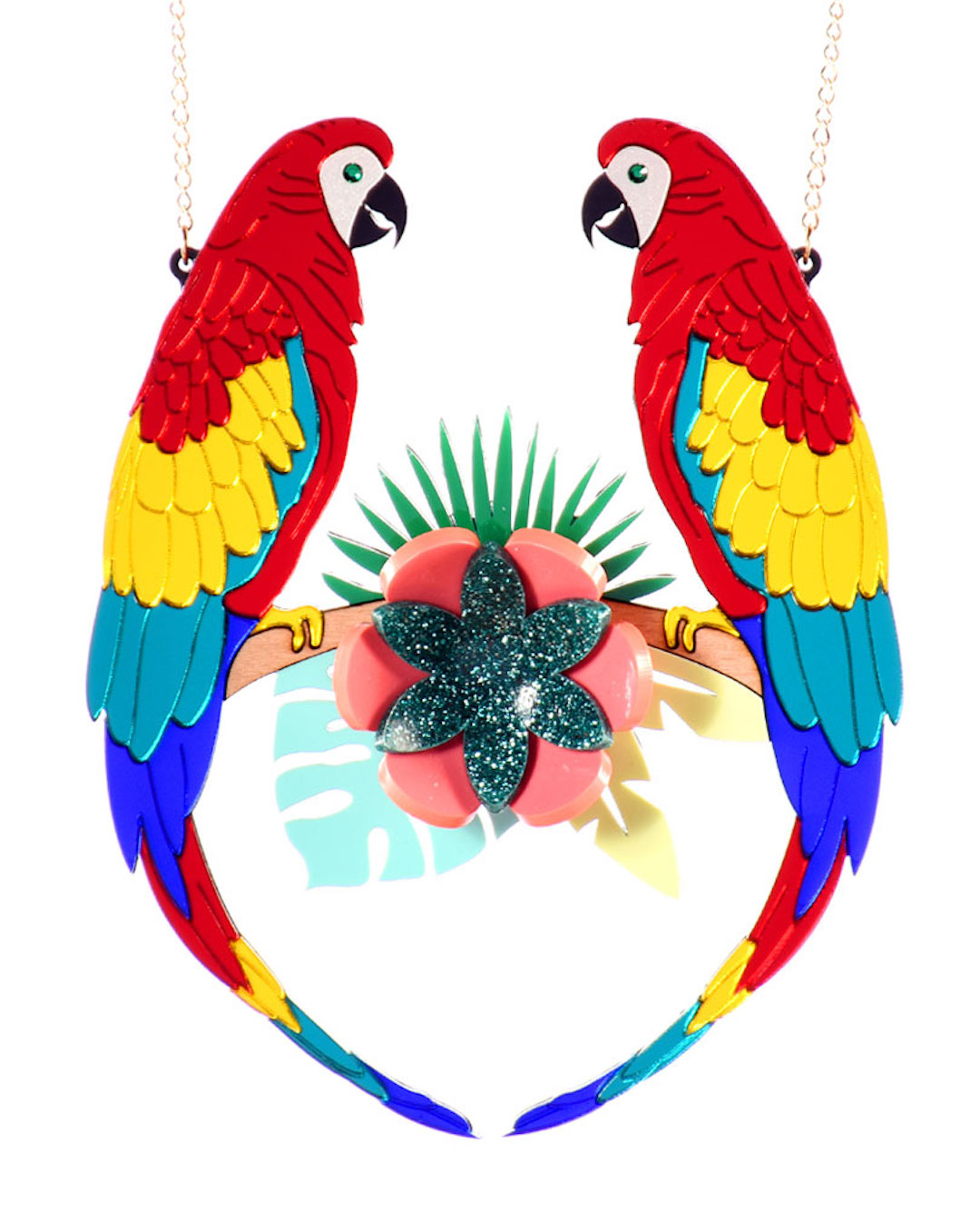 The best statement necklaces by La Vidriola