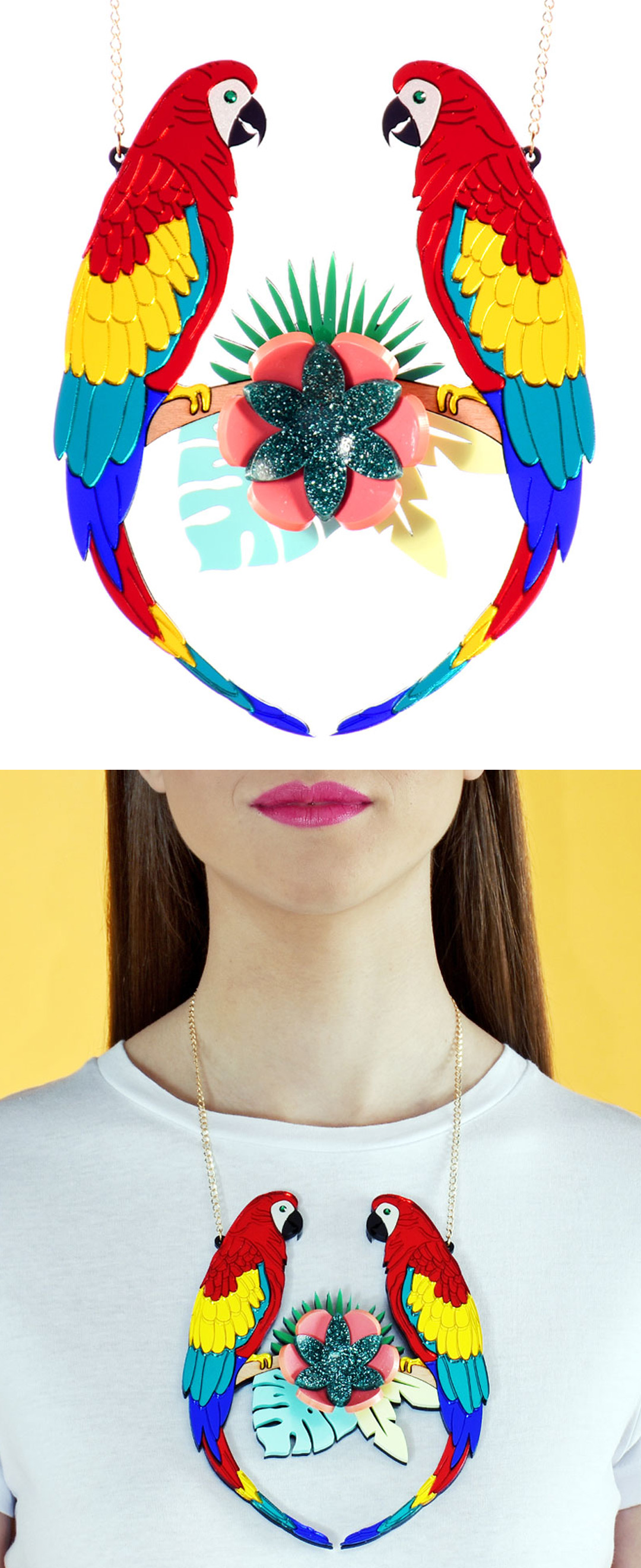 The best statement necklaces by La Vidriola
