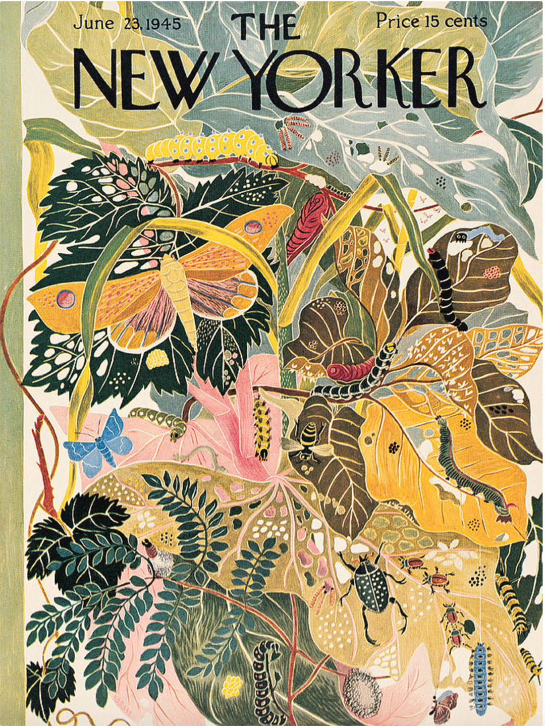 Vintage New Yorker covers