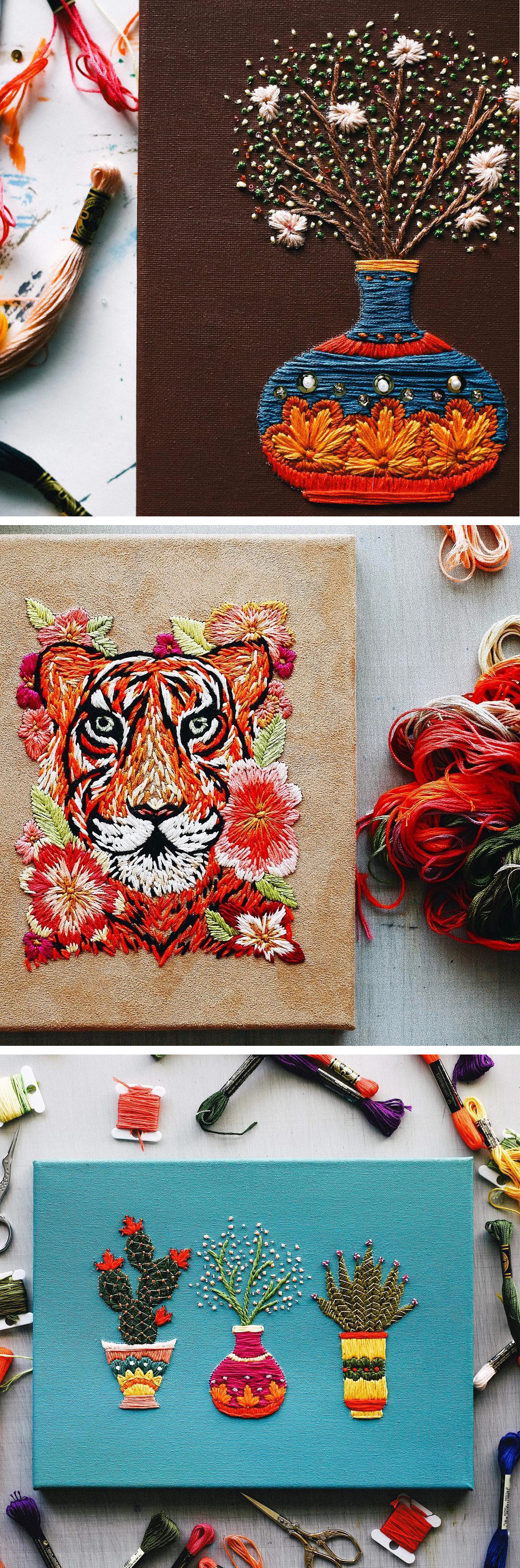 Modern Embroidery by TrueFort