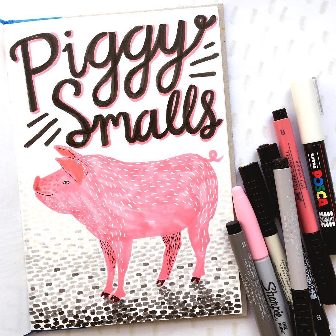 Illustrated animal puns
