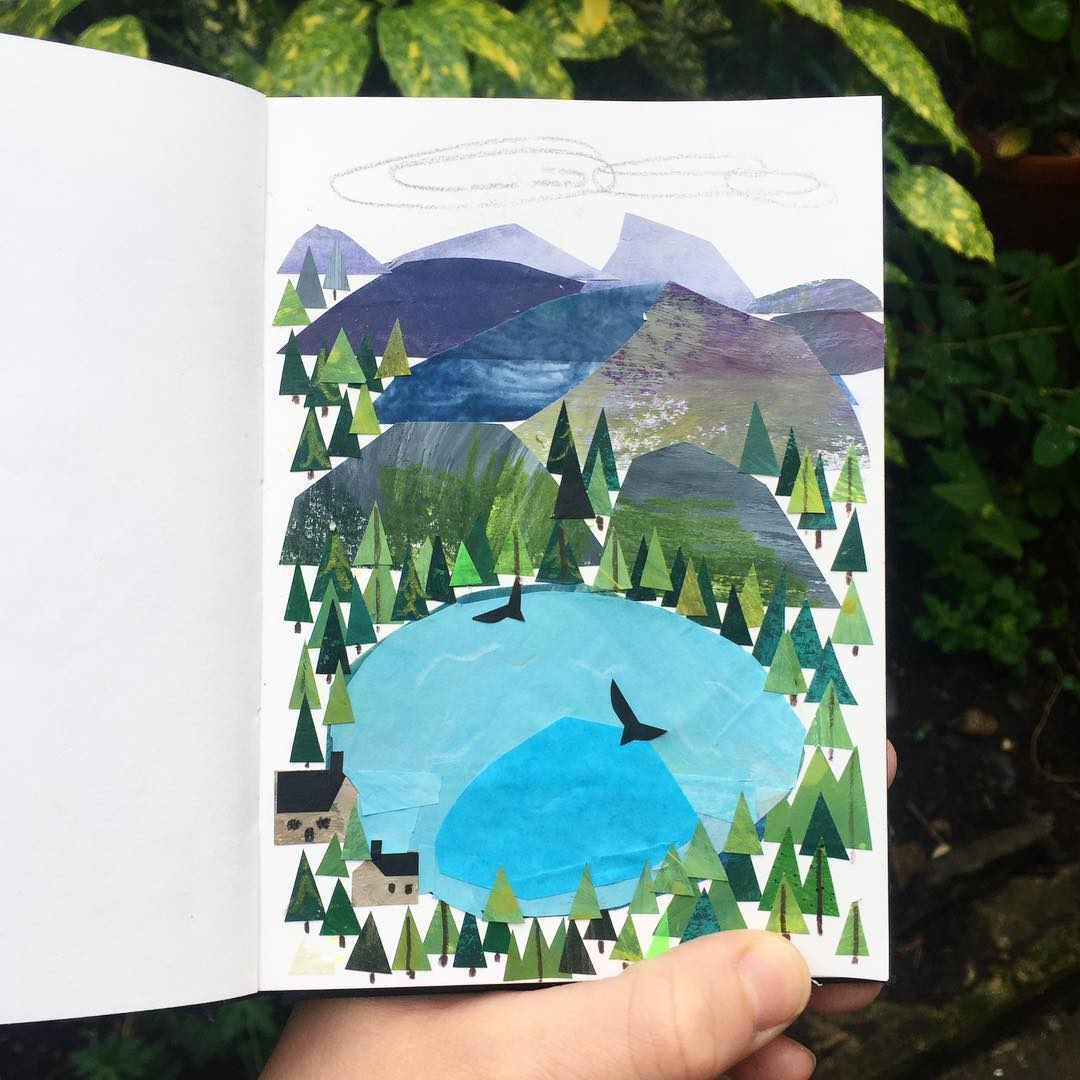 Sketchbook ideas from Clover Robin