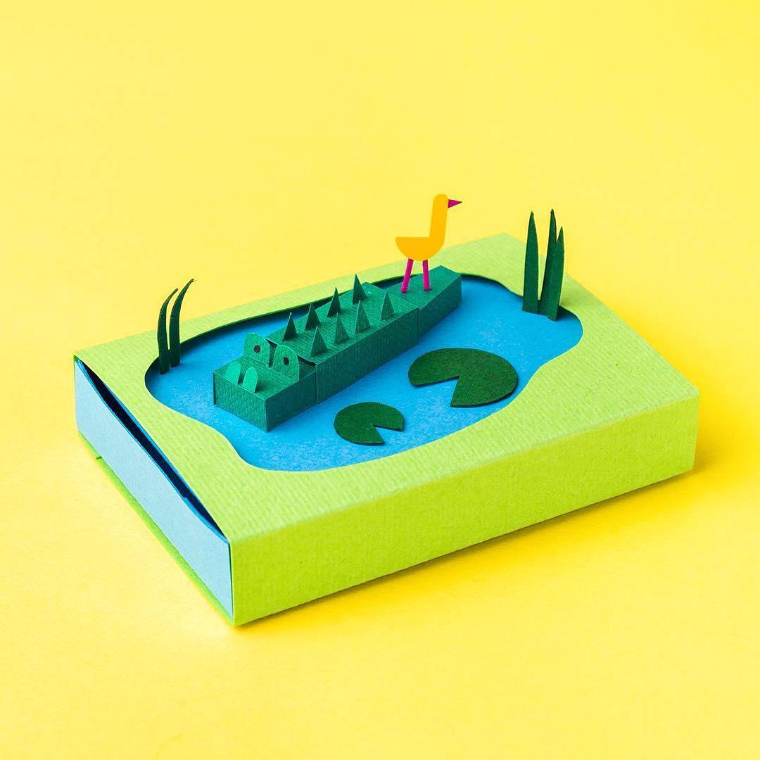 Miniature Cut Paper