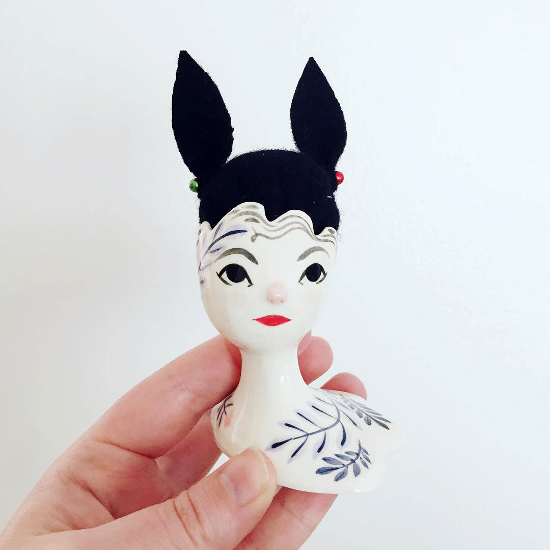 Bespoke pin cushions by Erin Paisely