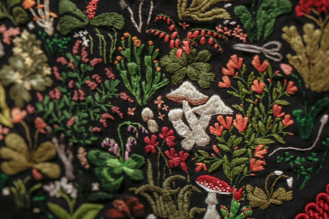 Embroidery by Allison Sommers