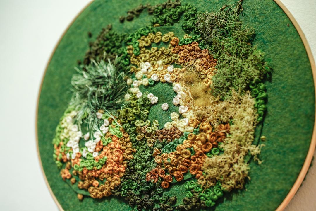 Embroidery by Emma Mattson