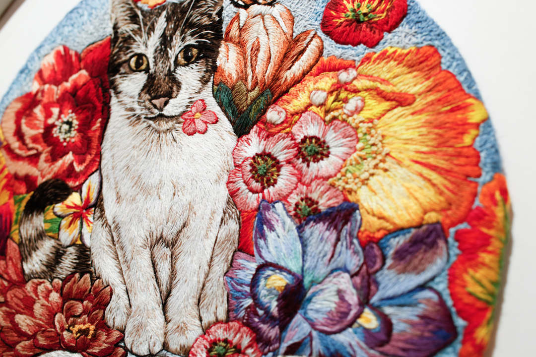 Embroidery by Jess De Wahls