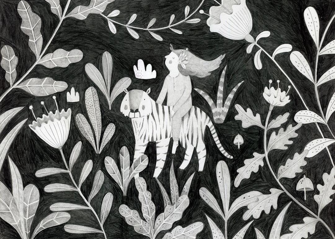 Gray illustration by Lior Katzir