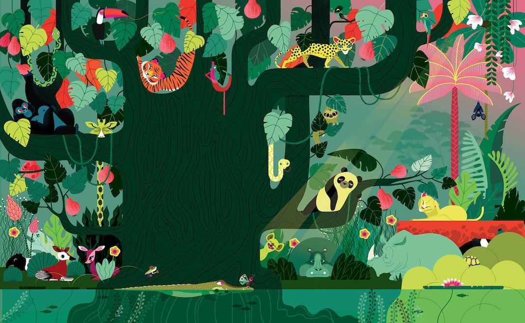 Illustration by Lucie Brunellière
