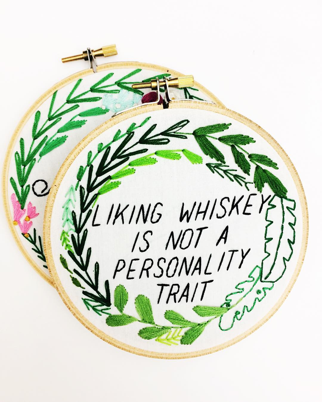 Embroidery by Lauren Singleton