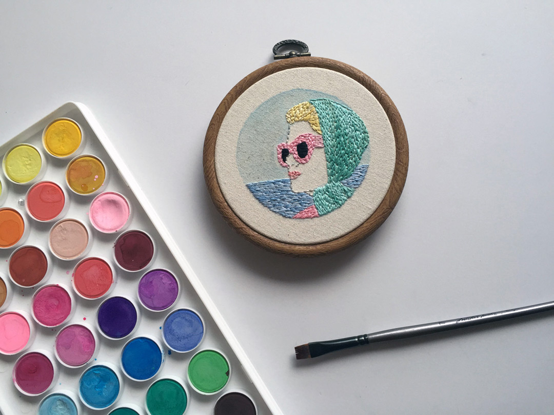 Hand embroidery patterns ready for you to download and sew