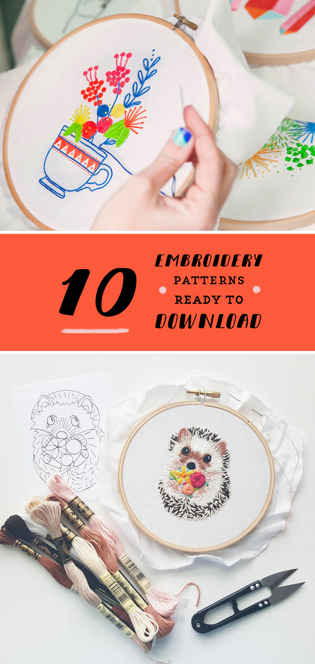 Embroidery Patterns Free Interesting Inspiration