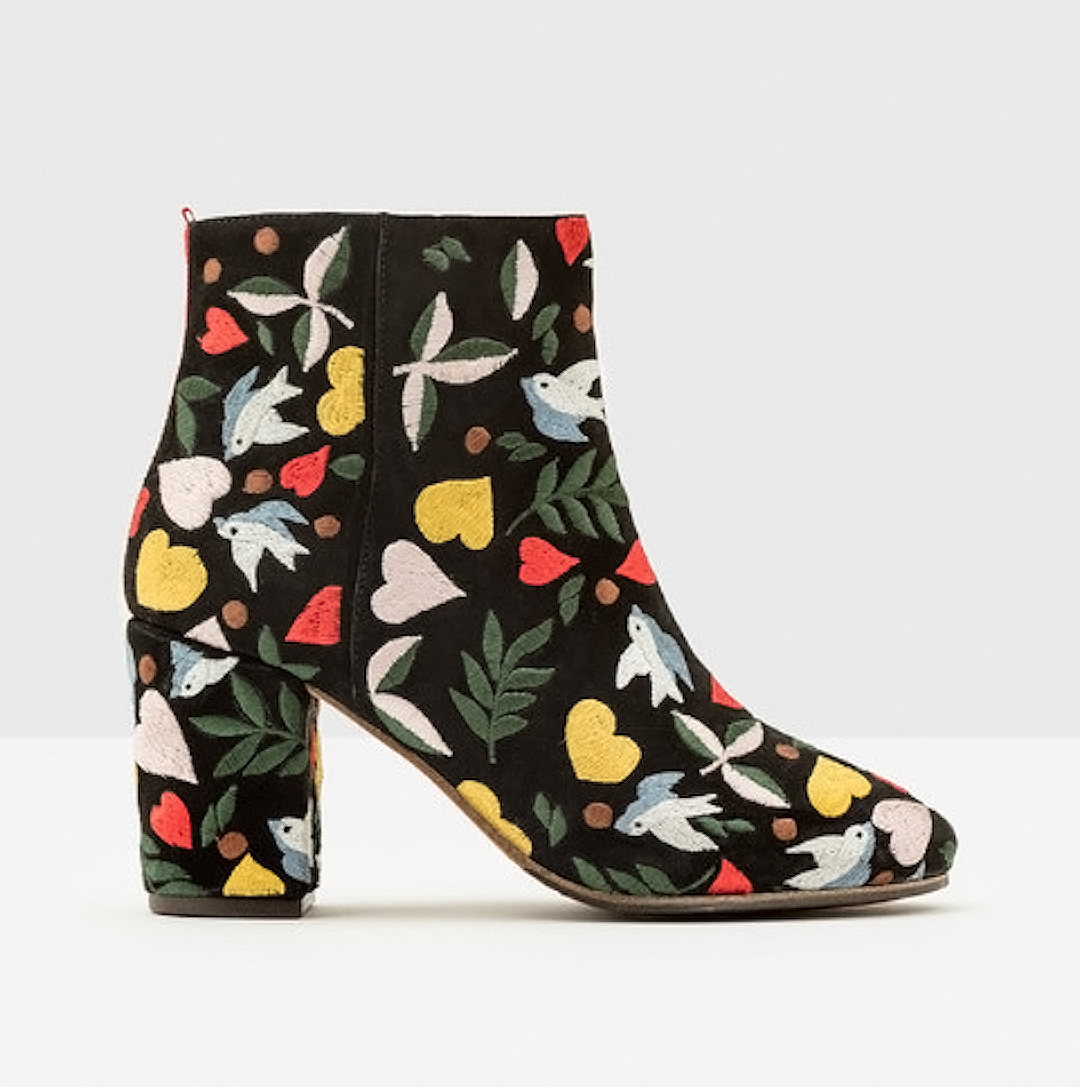 Embroidered boots by Boden